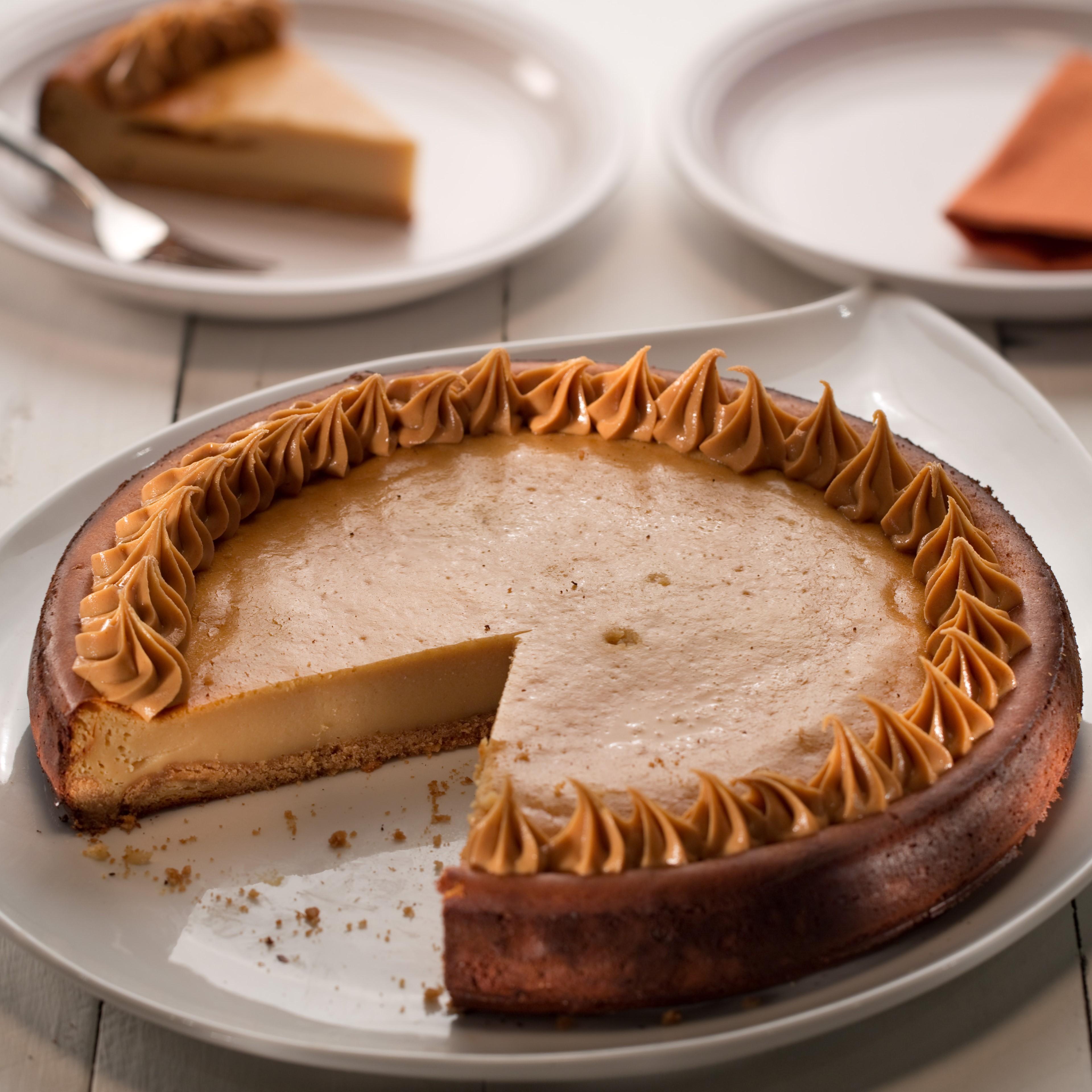 Cheesecake de Mantequilla de Mani