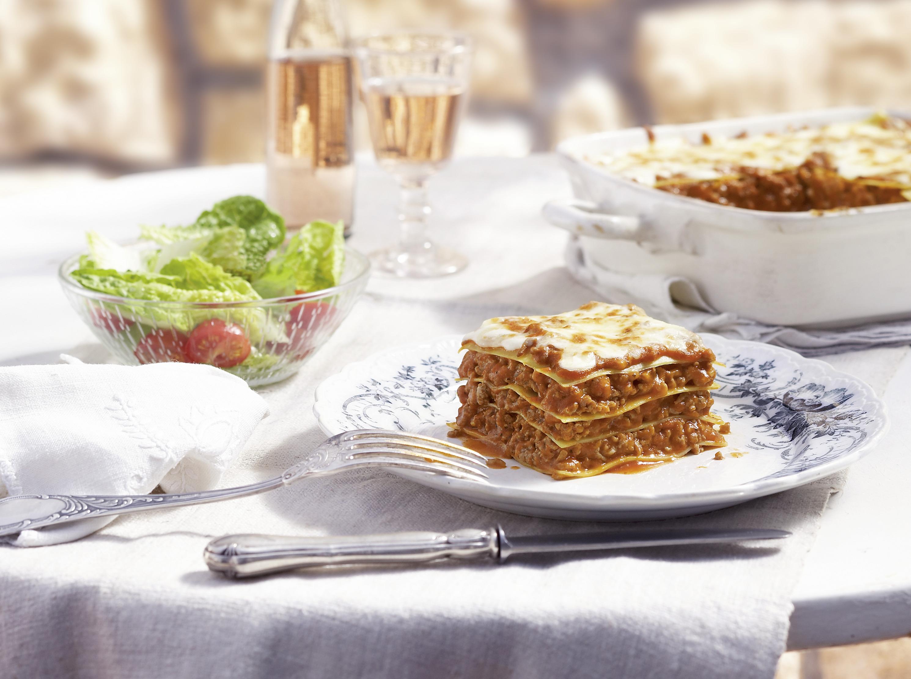 lasagne rezept einfach