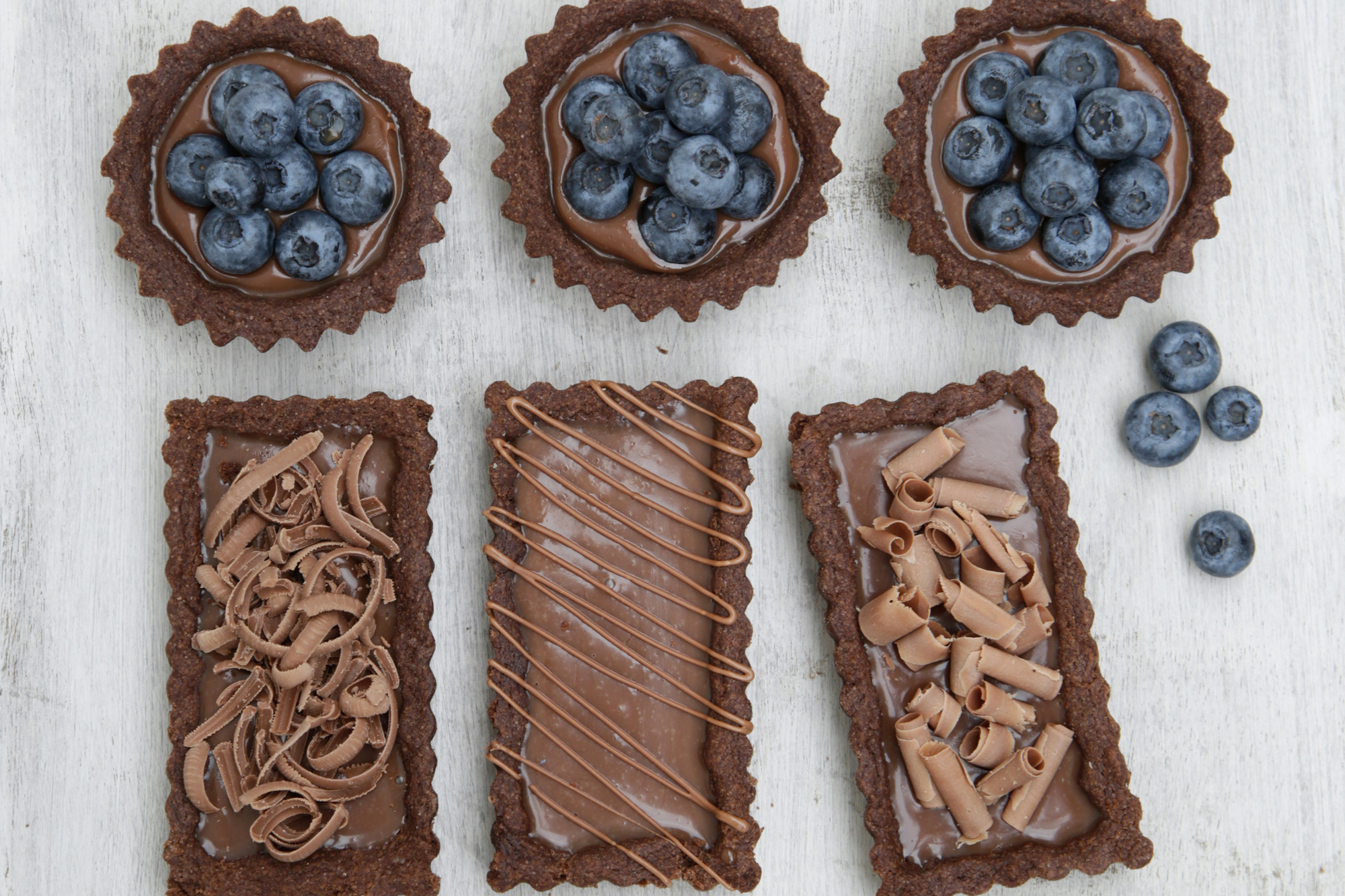 Tarteletas de Chocolate