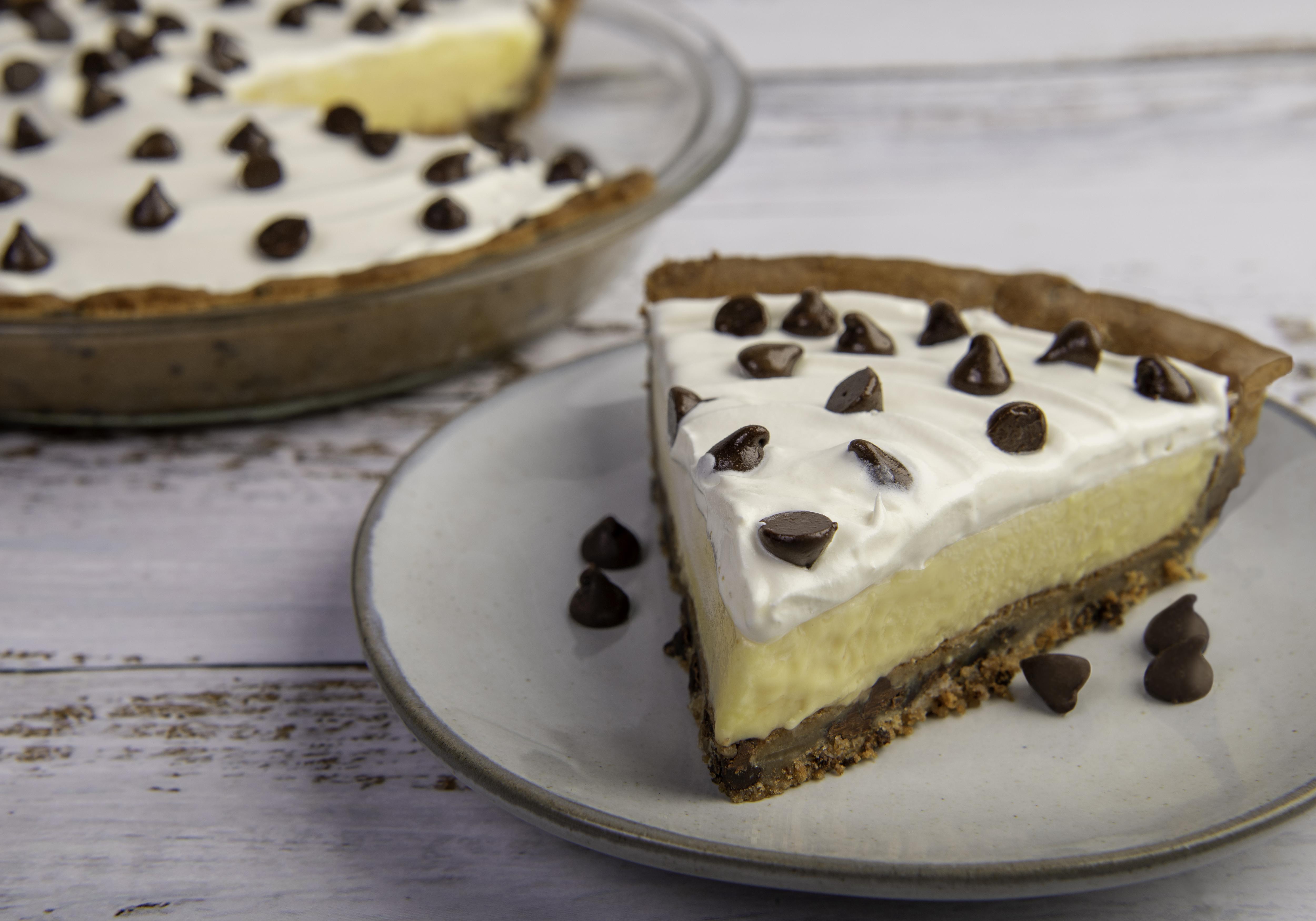 Chocolate Chip Cream Pie