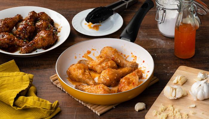 Fried Chicken 2-ways (Sweet Chili Sauce)