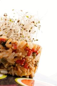 Festival de arroz y verduras