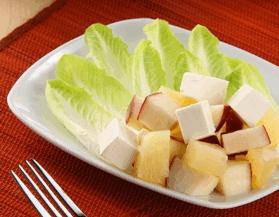 Ensalada de manzana y piña