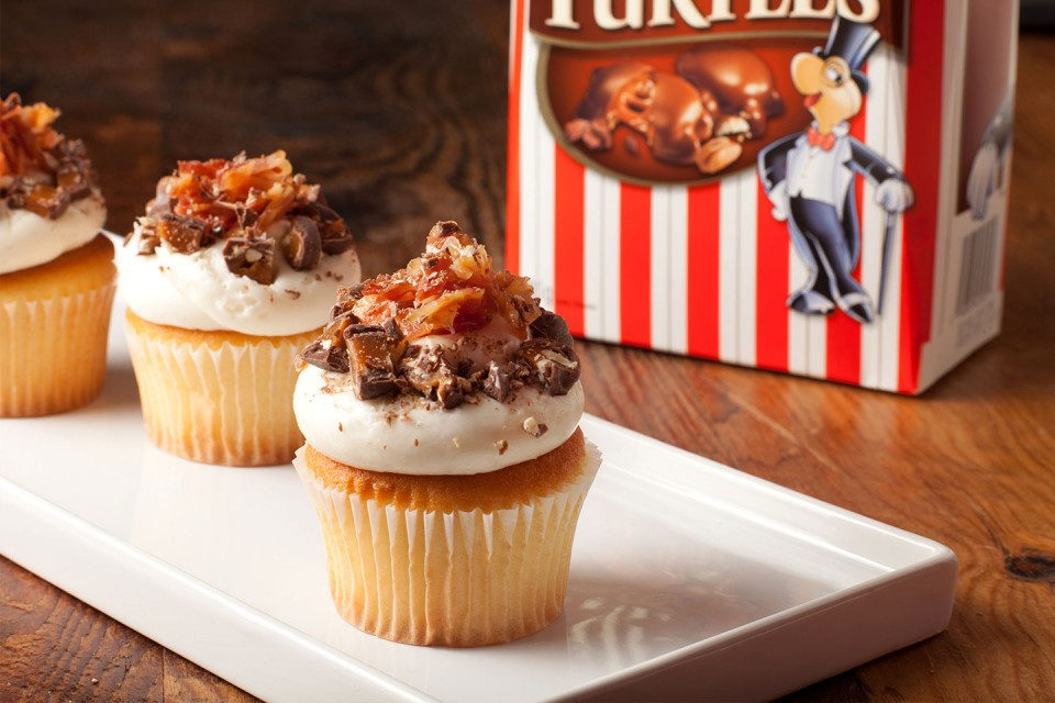 TURTLES Bacon Cupcakes