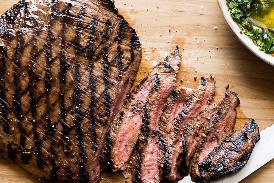 Coffee Marinated Flank Steak