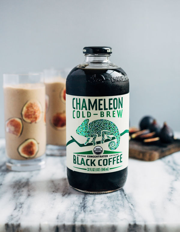 Cold Brew and Fig Boozy Milkshake