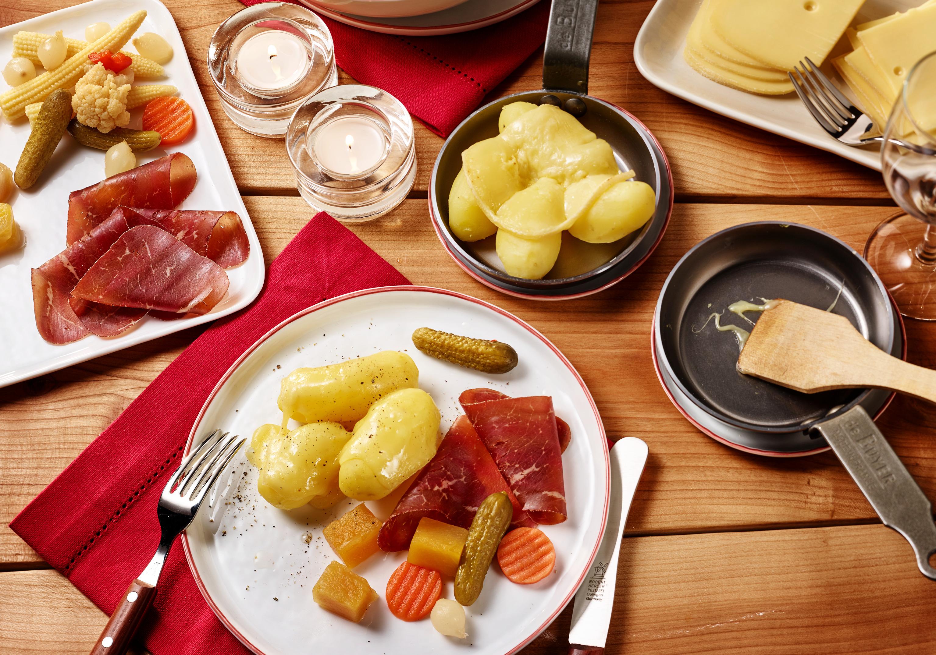 fleisch pro person raclette
