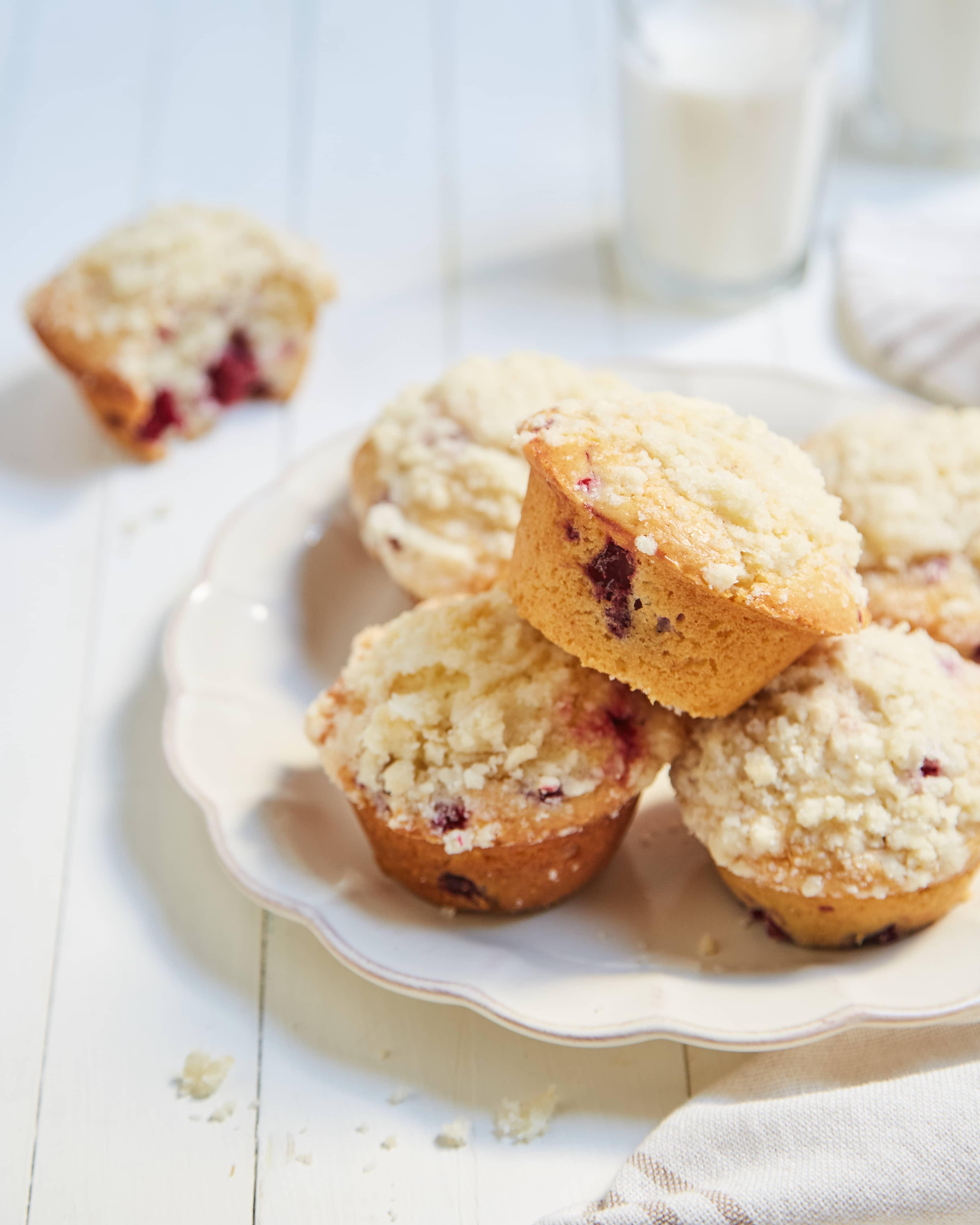 Muffins con Frambuesa