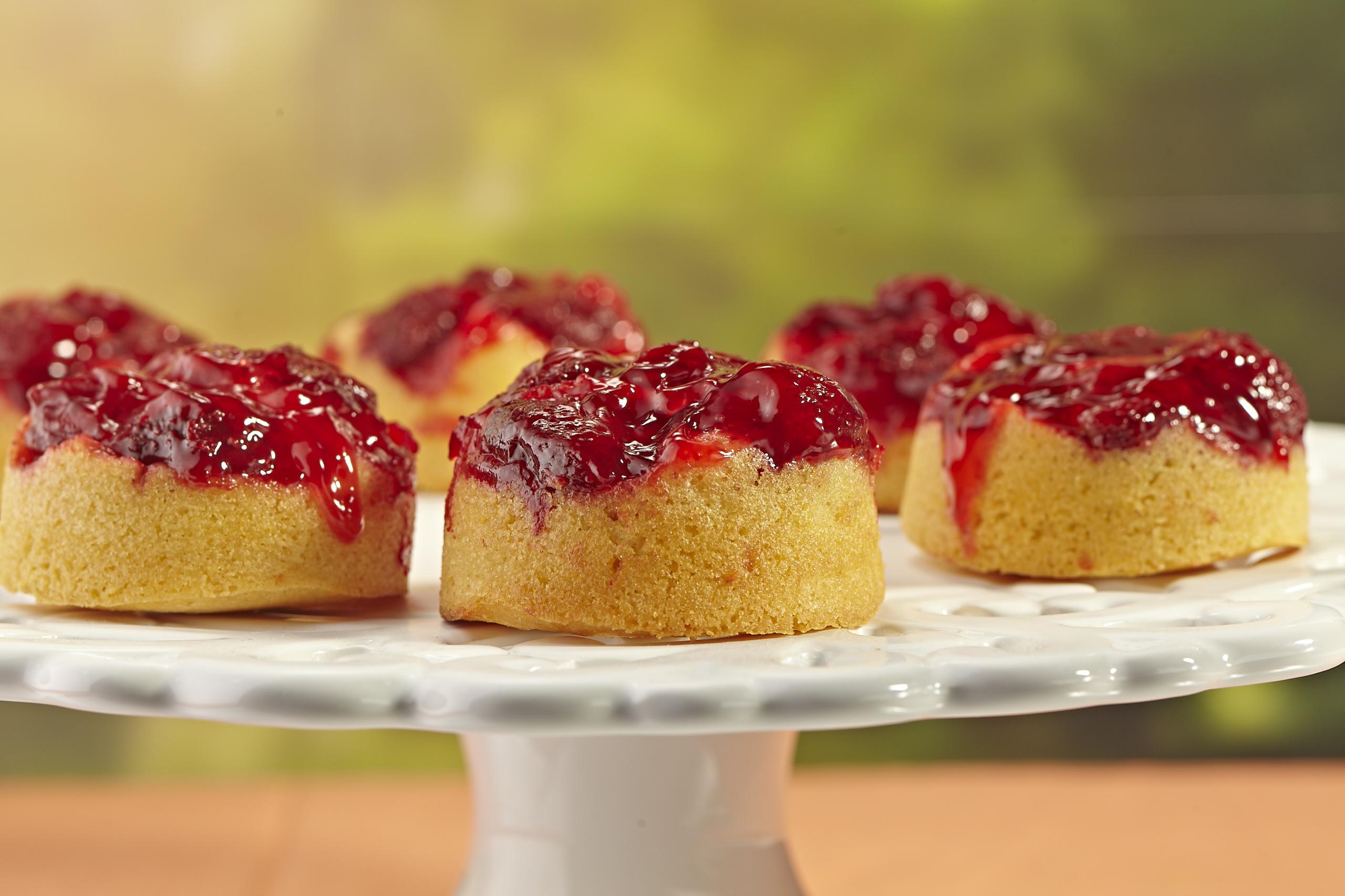 Berry Good Corn Cakes