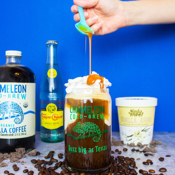 Chameleon Cold-Brew Coffee Float