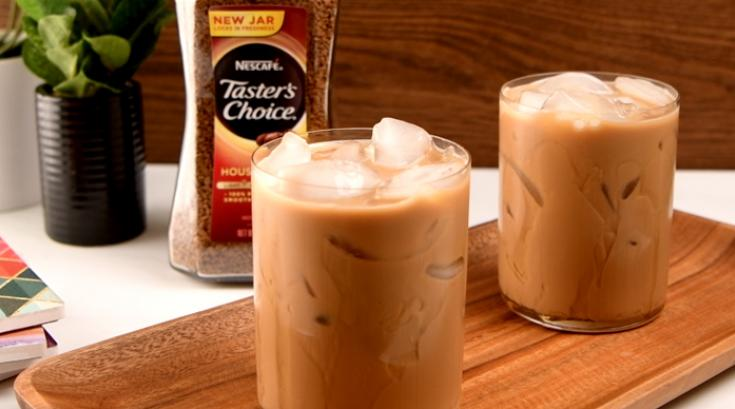 Iced Honey Latte
