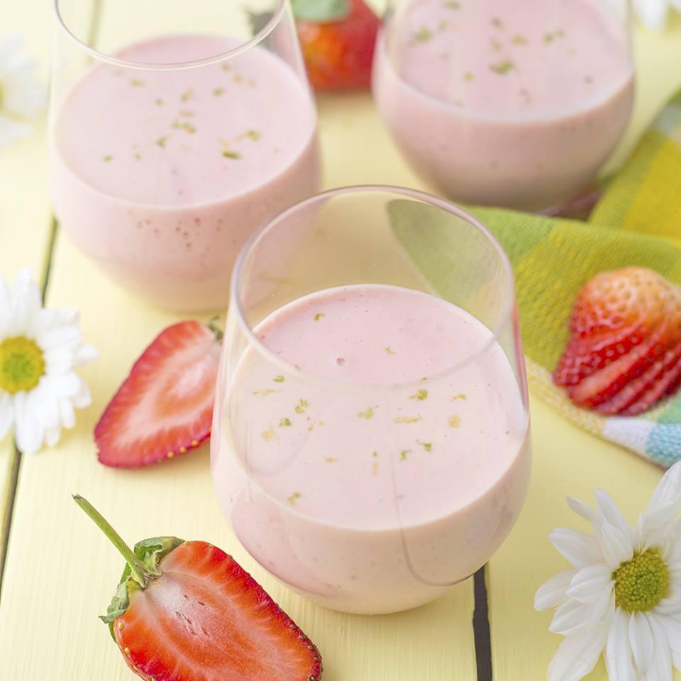 Mousse de Fresa y Limón