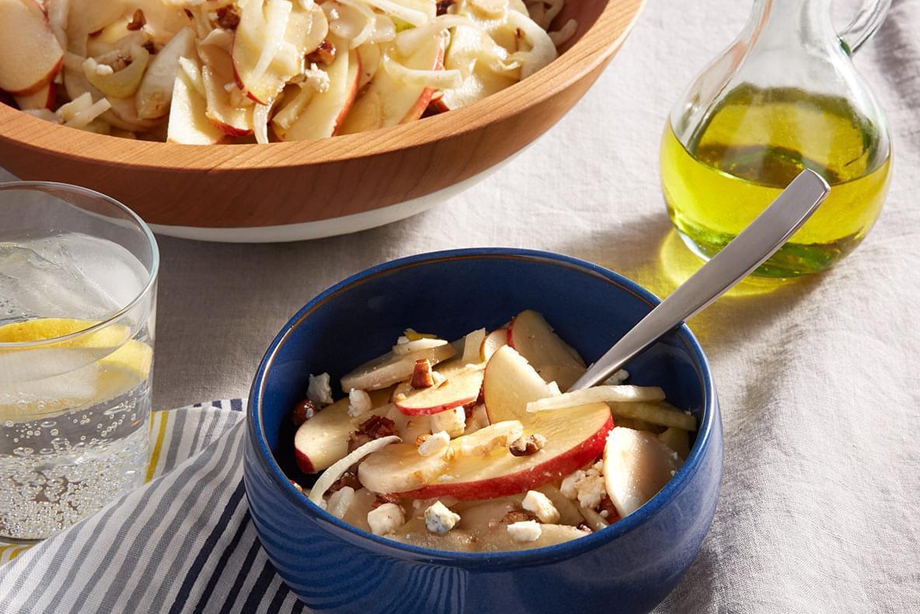 Fennel, Sunchoke and Apple Salad with Citrus Vinaigrette