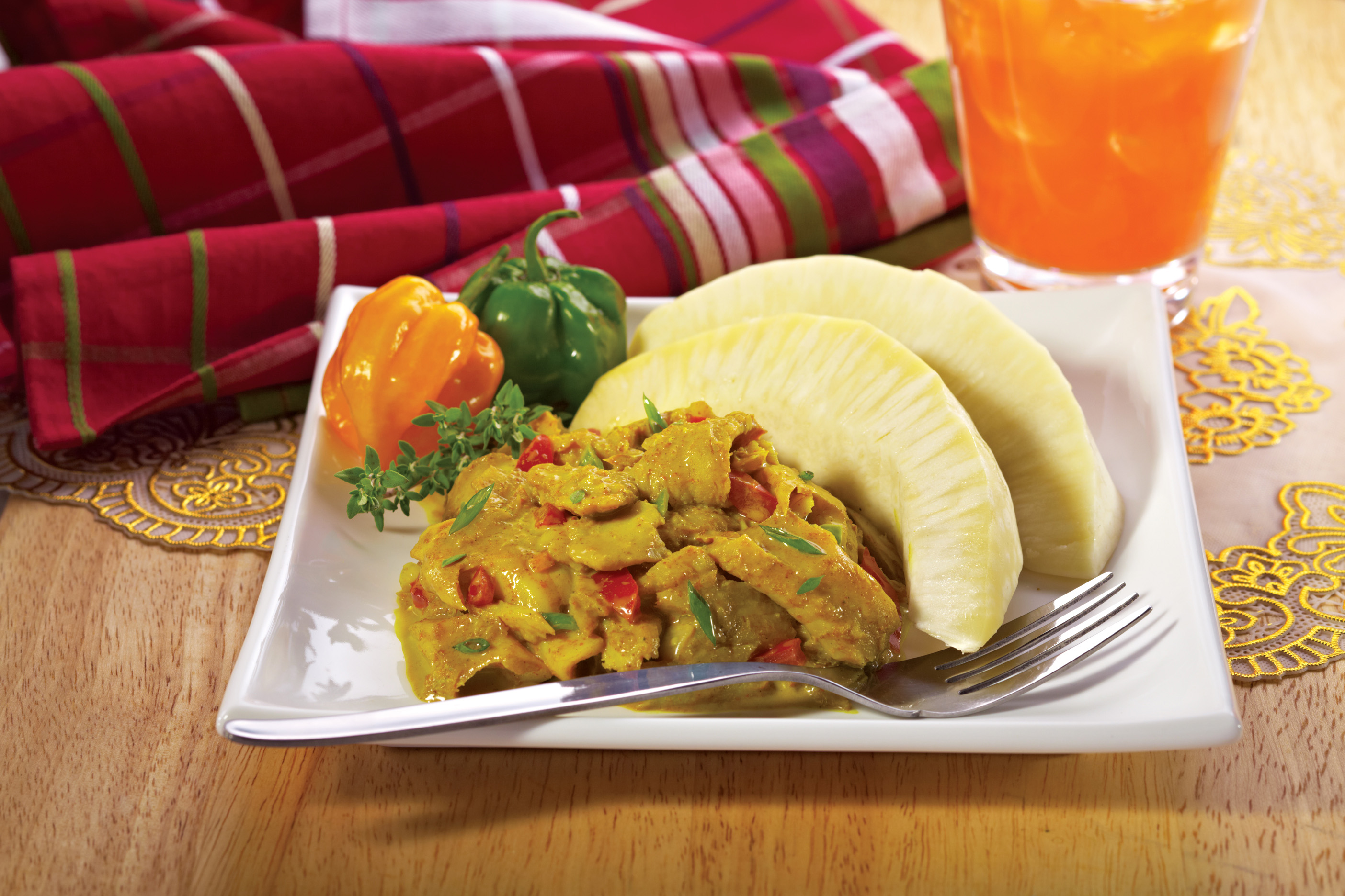 Curried Saltfish