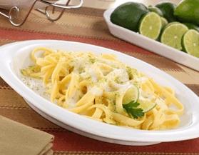 Linguini al limón