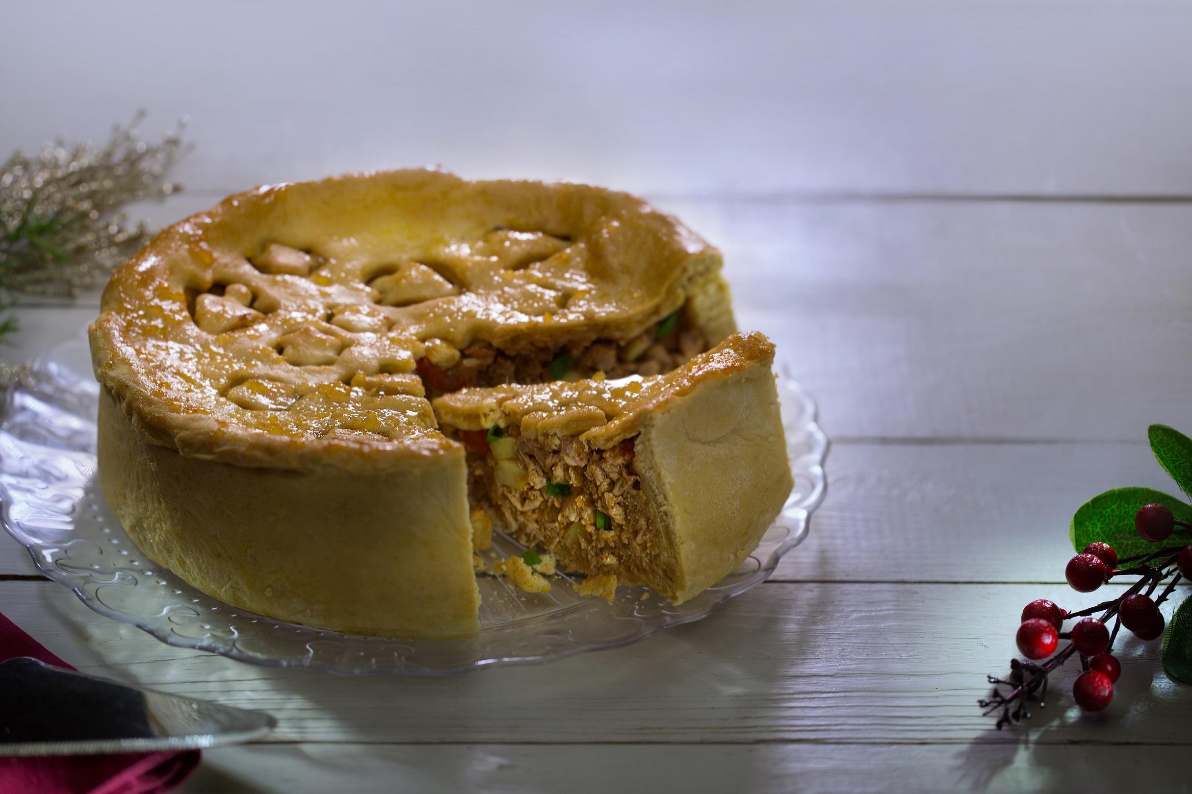 Pastel de Cerdo con Manzana y Mermelada