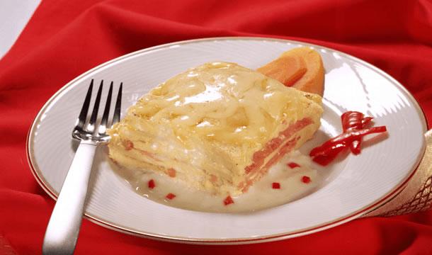 Soufflé de jamón