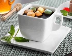 Café con malvaviscos