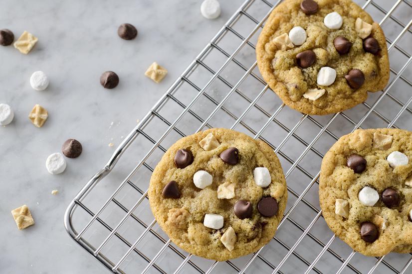 Waffle Cone Sundae Cookies