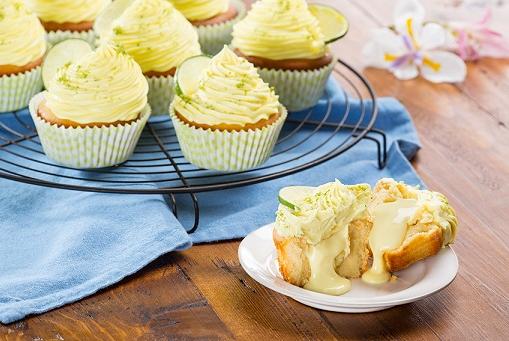 Cupcakes pay de limón