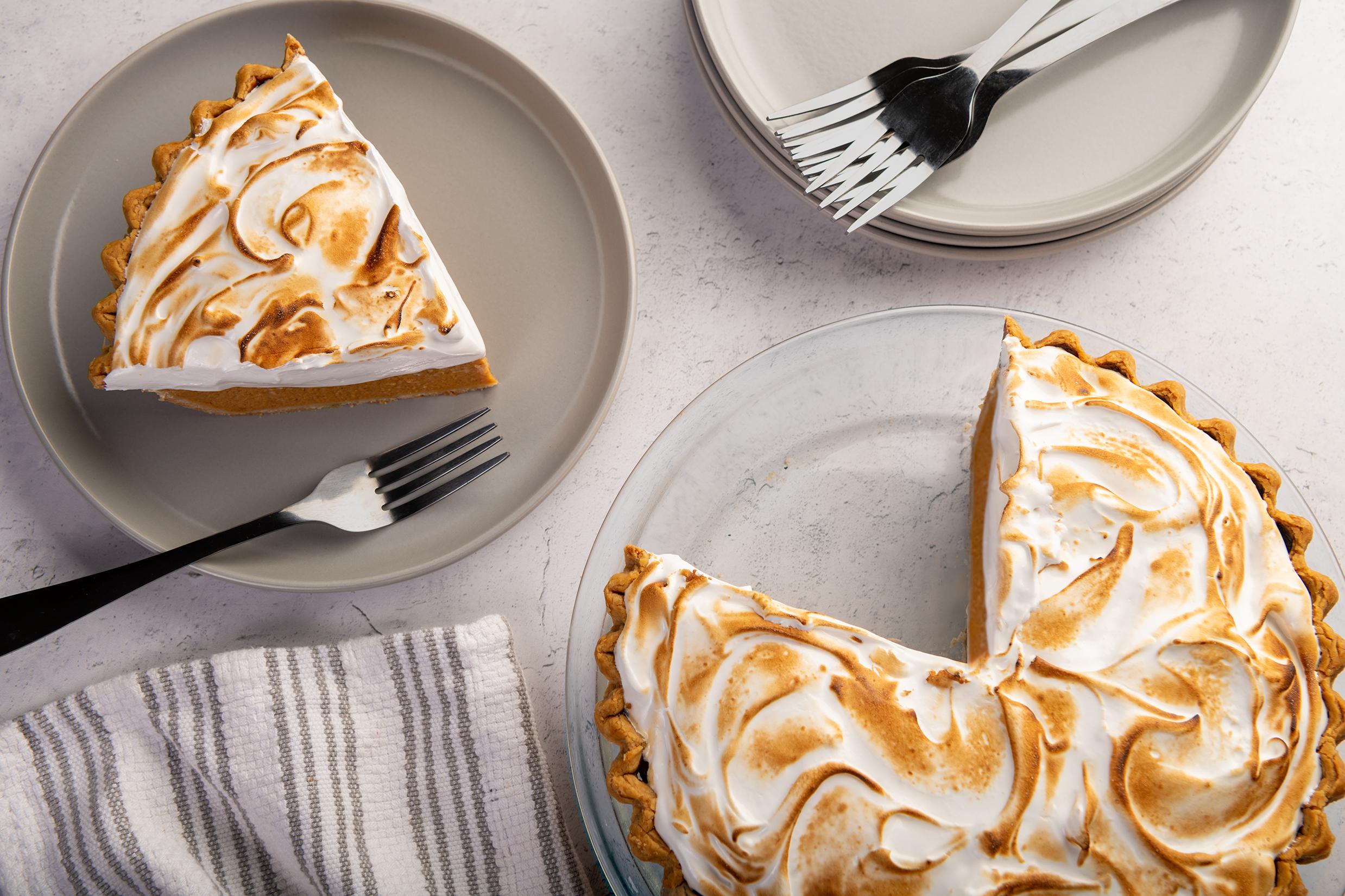 Pumpkin Maple Meringue Pie