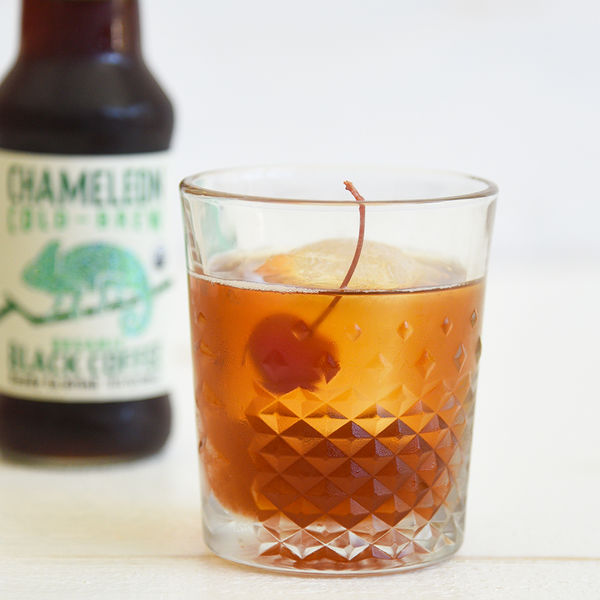 Cold Brew Ginger Whiskey Cocktail