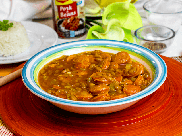Pork & Beans con Chorizo