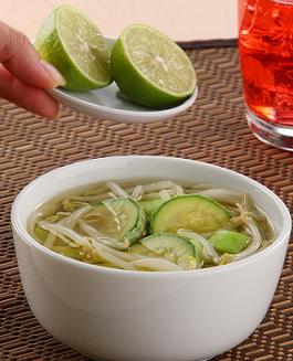 Sopa de germinado de soya