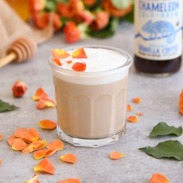Chameleon Cold-Brew Rose Latte