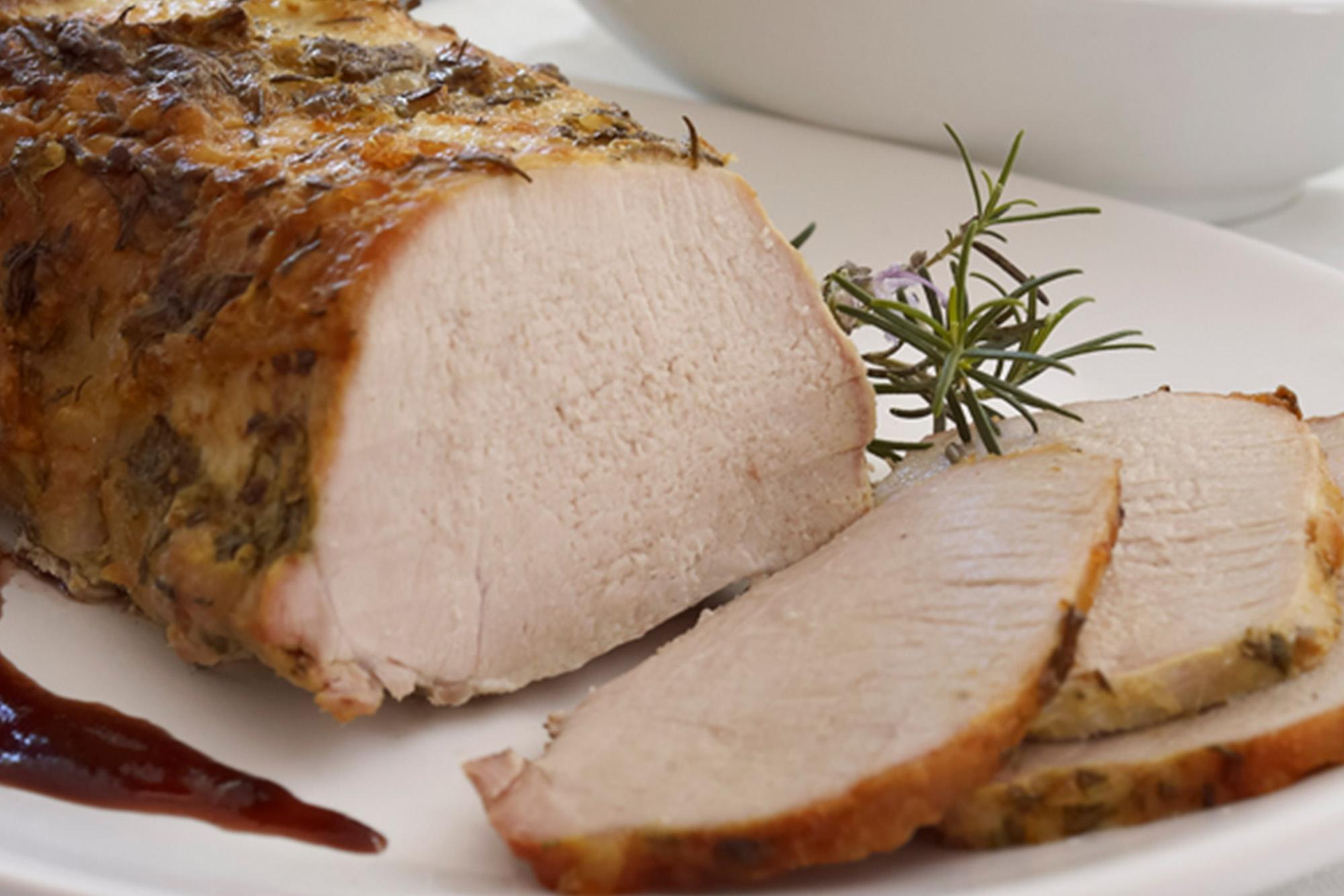 Carre de cerdo al horno