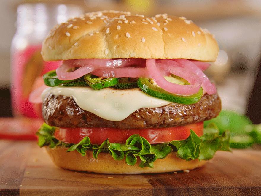 Chorizo Burgers image