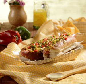 Hot dog campesino