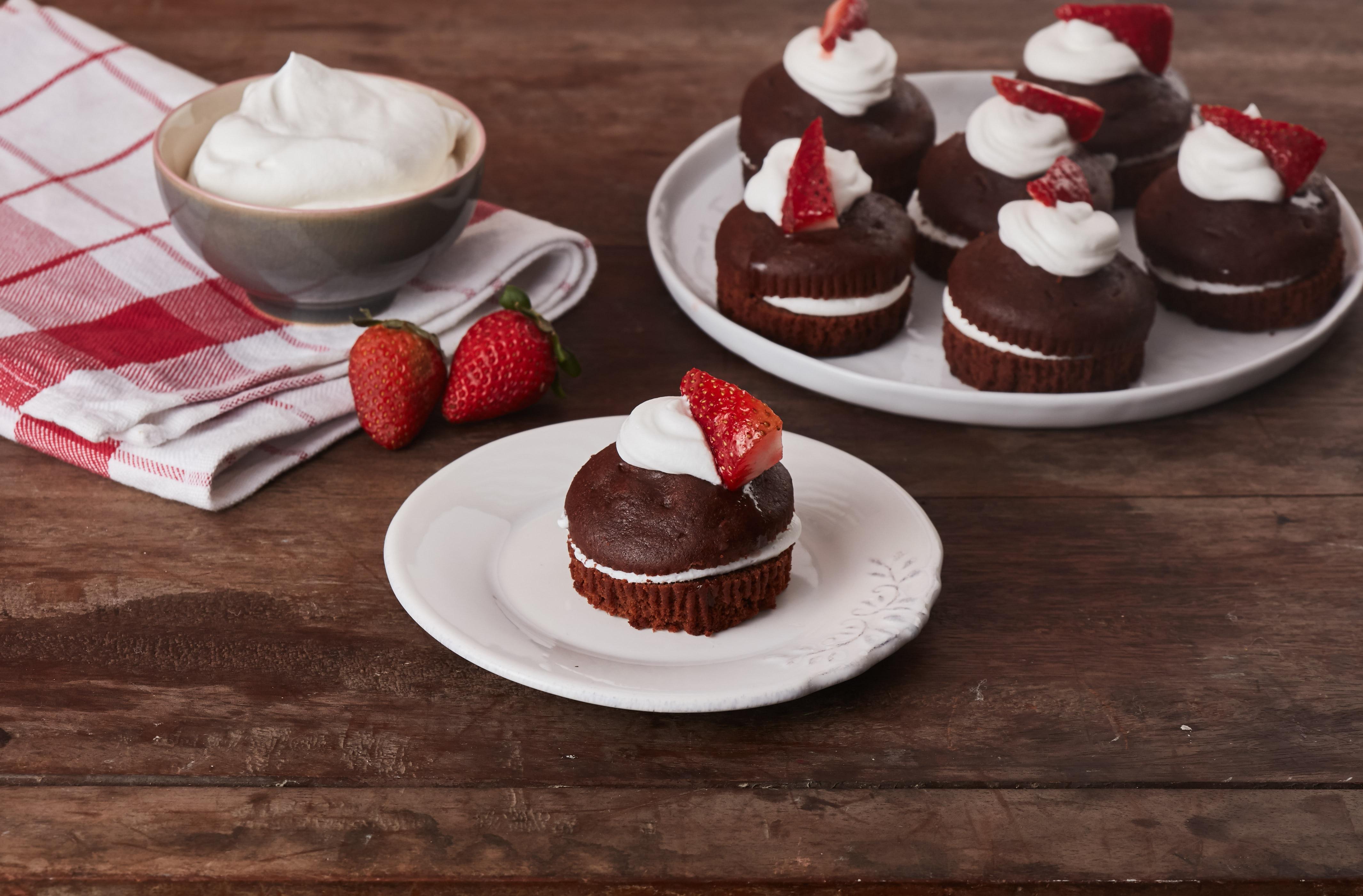 Mini Cupcake de Selva Negra