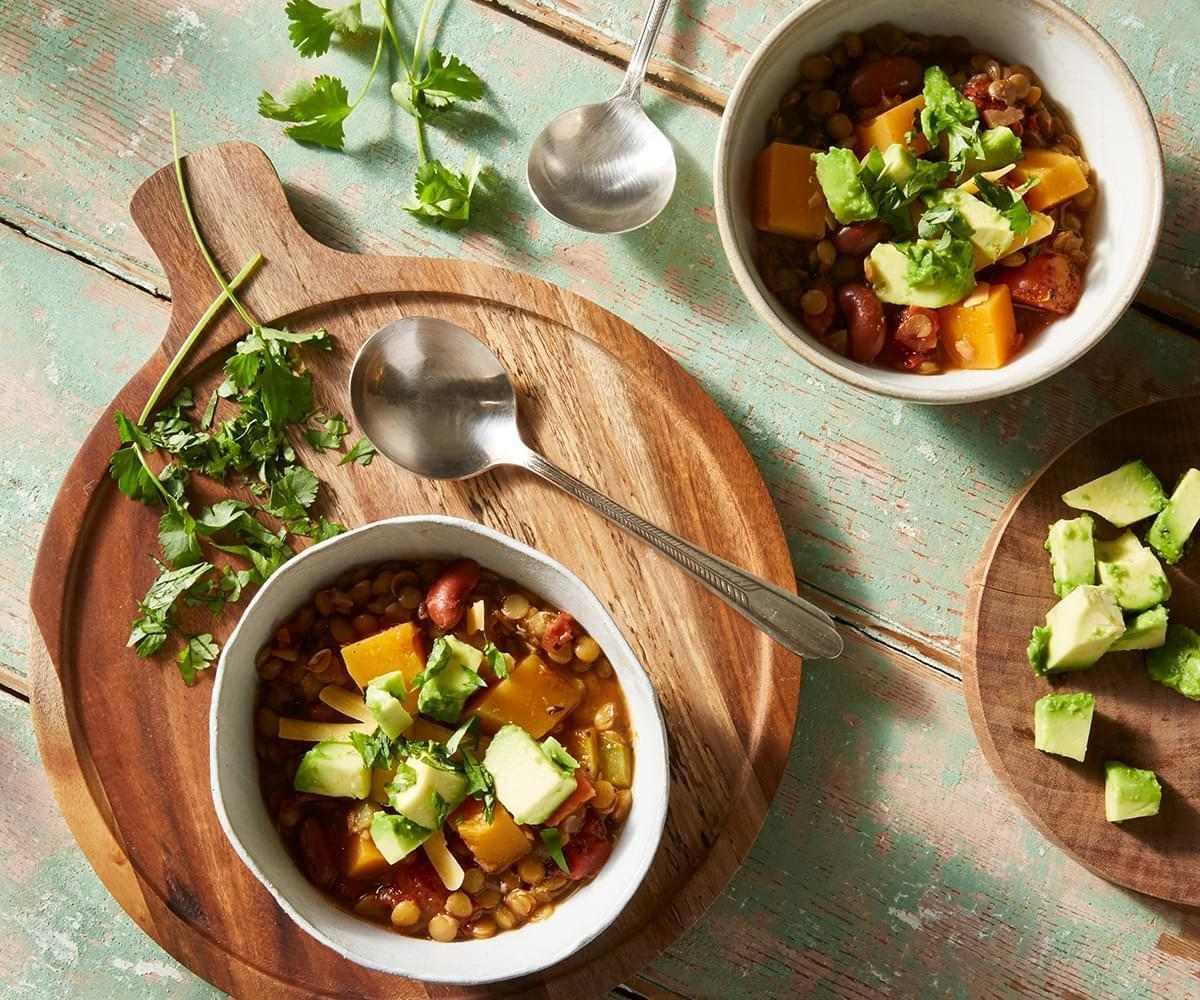 Butternut Squash Lentil Chili image