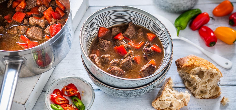 rezept für gulaschsuppe klassisch