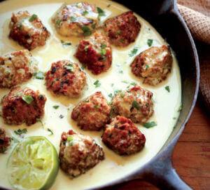 Thai Seitan Meatballs