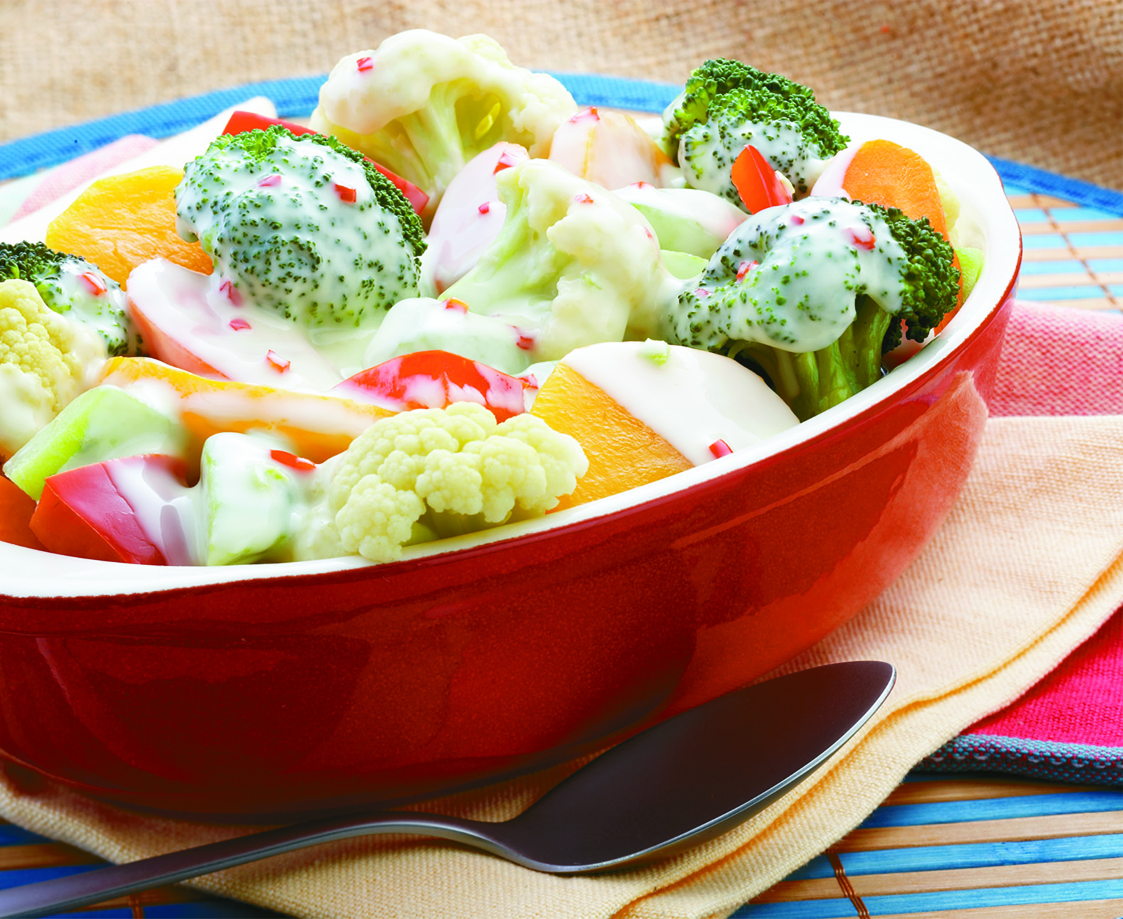 Vegetable In Creamy Sauce