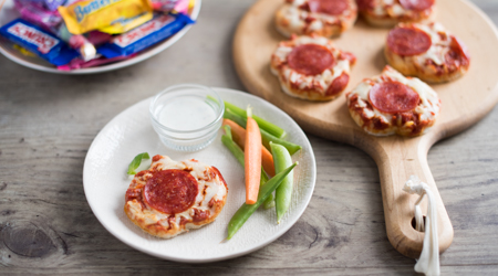 Halloween Pizza Dippers