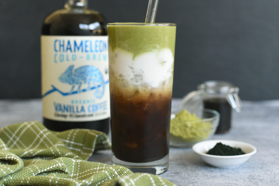 Chameleon Cold-Brew Iced Camou Latte