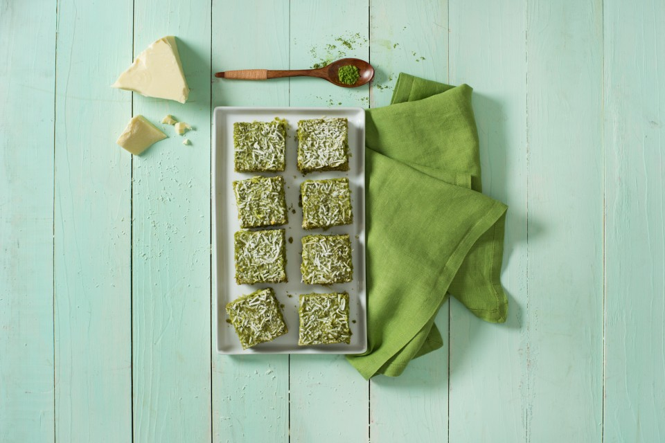 BOOST High Protein Matcha Coconut Bars