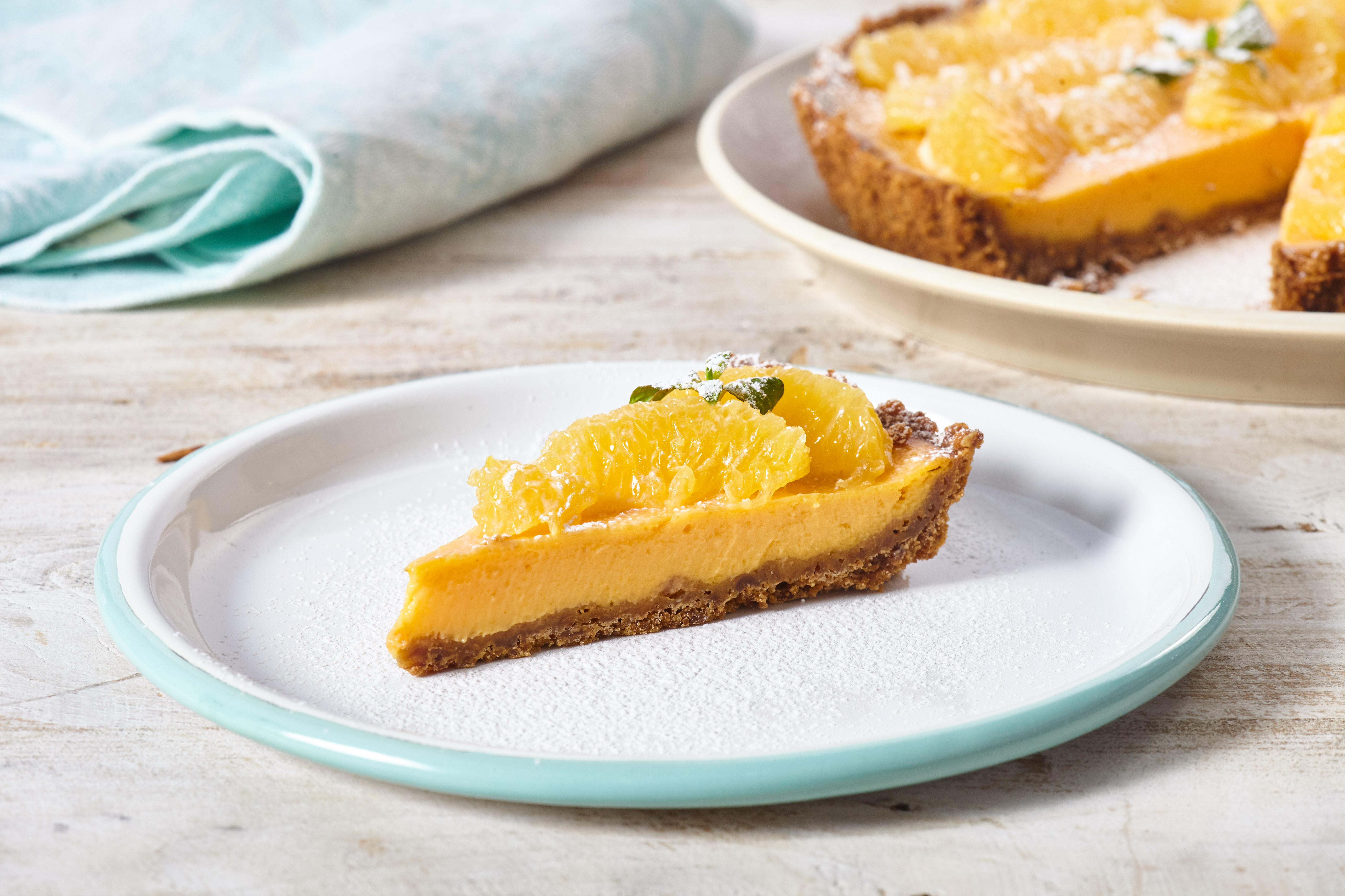 Pie de Zanahoria y Naranja