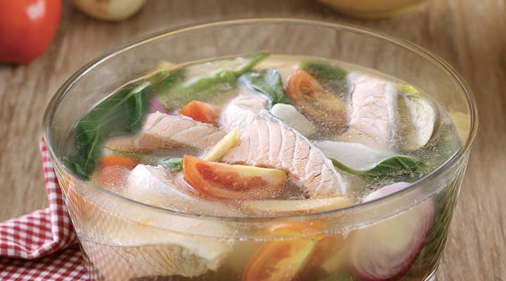 Salmon Belly Sinigang Maggi