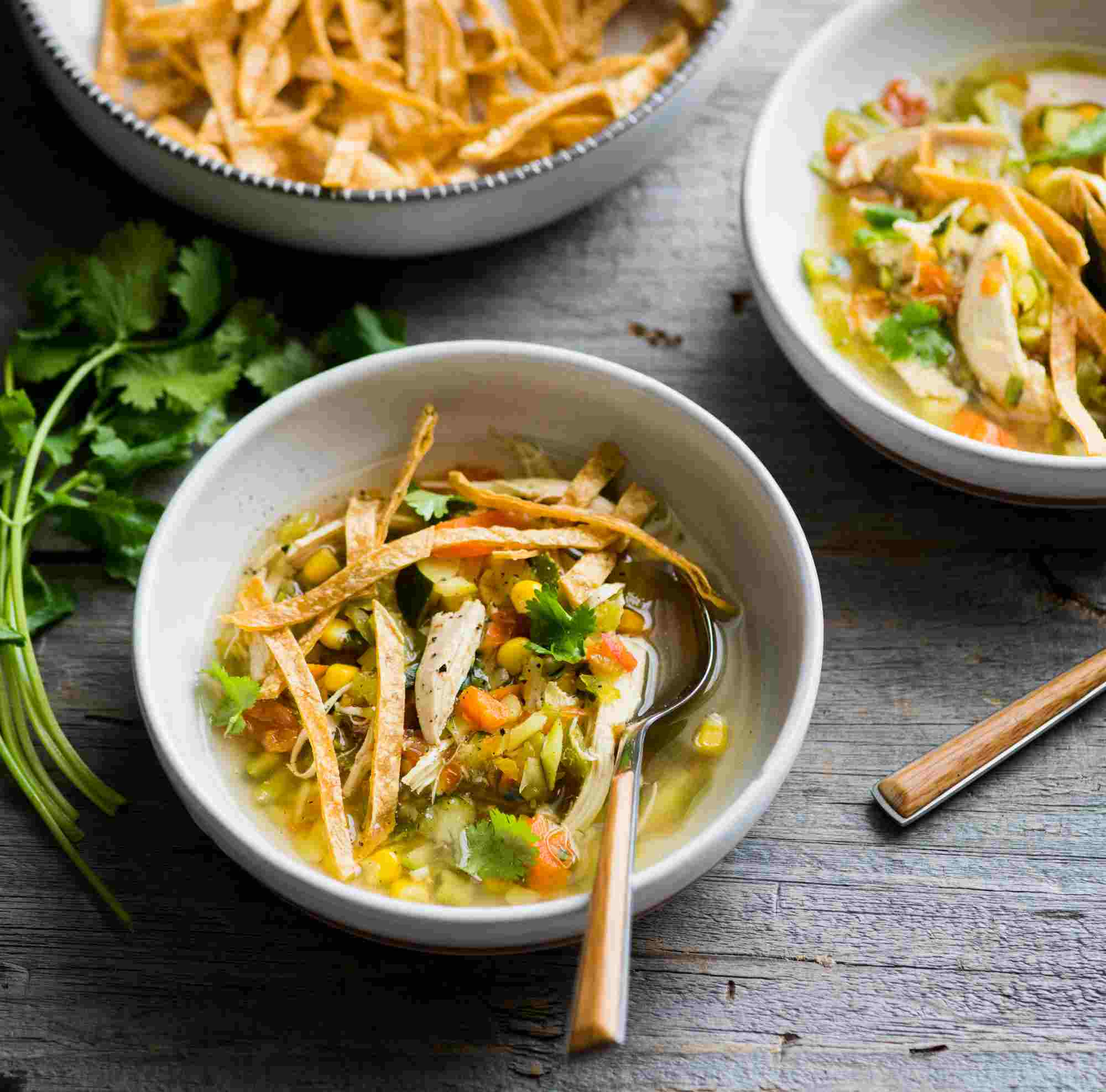 Chicken & Tortilla Soup image