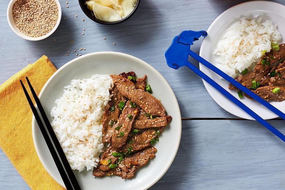 Korean Beef (Bulgogi)