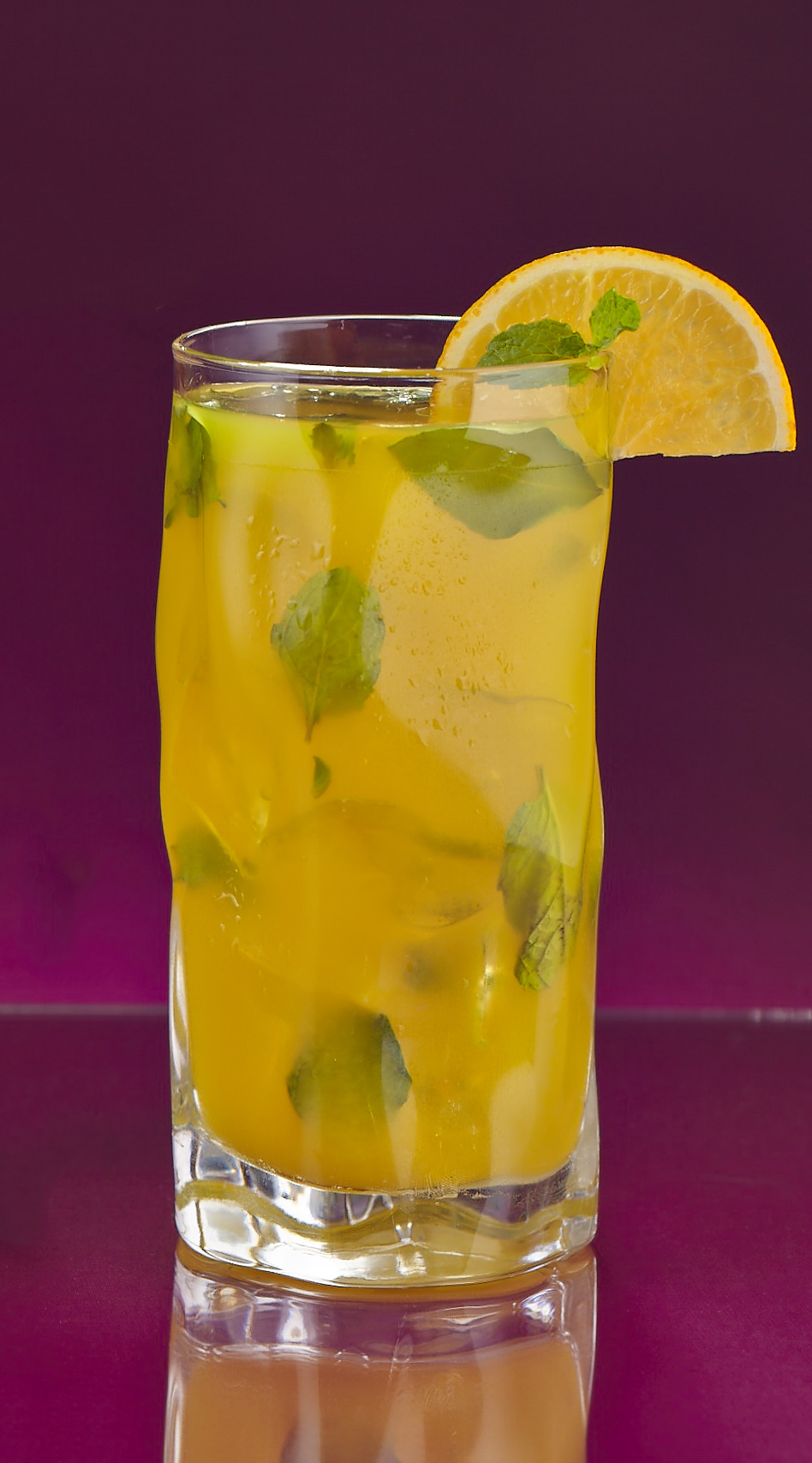 Orange - Basil Mojitos