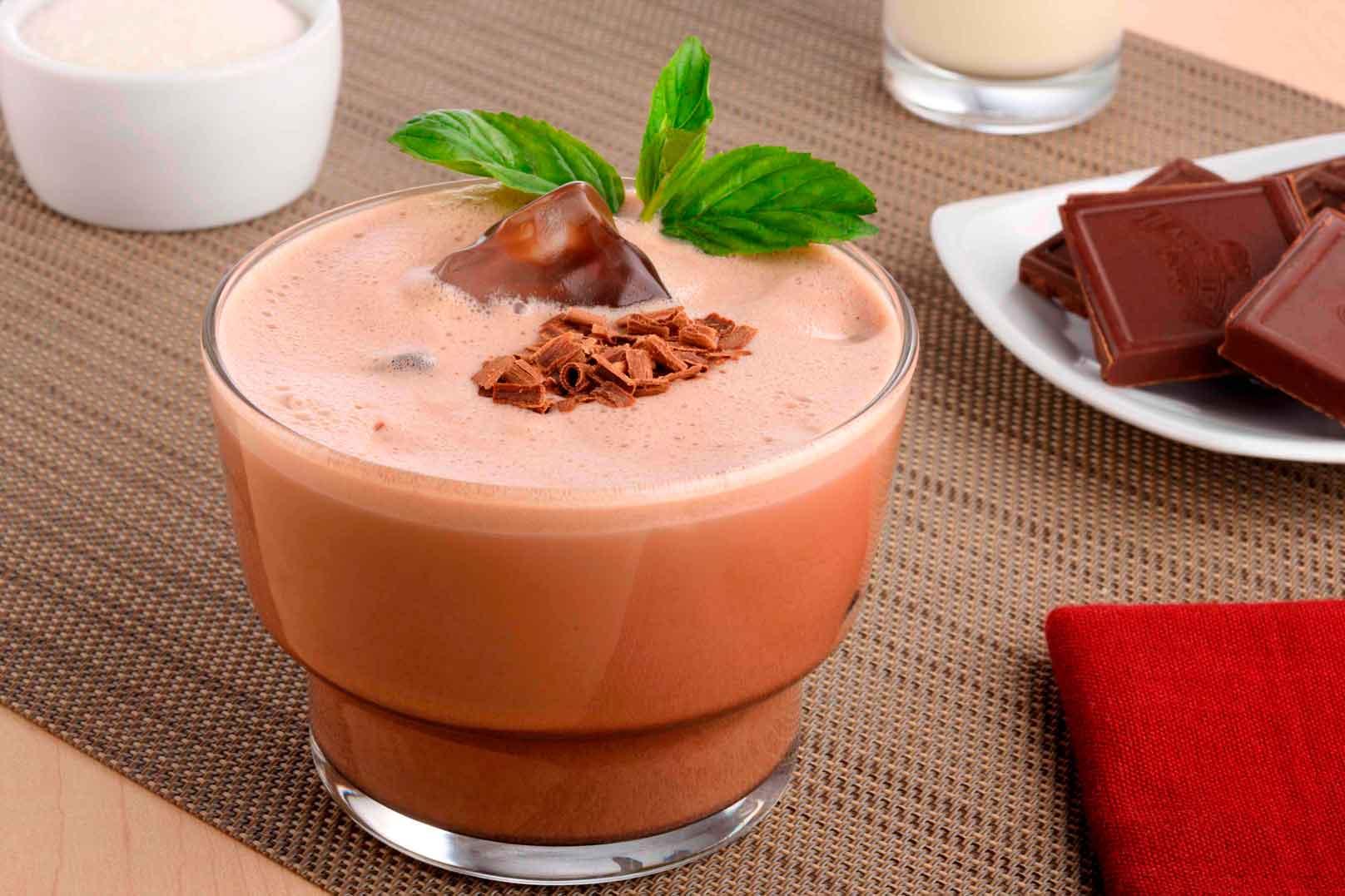 chocolate con ron