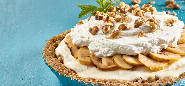 Pie de Plátano y Leche Condensada