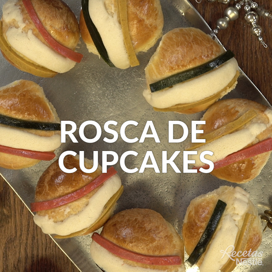 Rosca de cupcakes