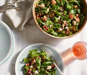 Arugula, Grape and Fig Salad