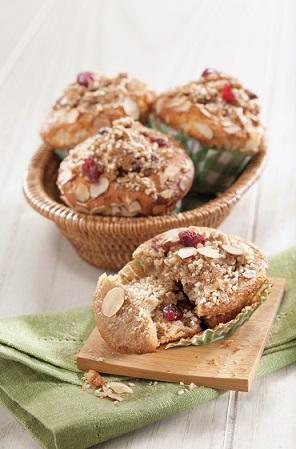 muffins manzana canela deslactosados
